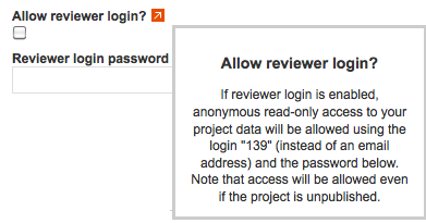 Granting anonymous reviewer access